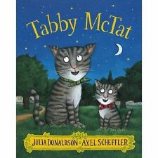 Julia Donaldson Story Book  - TABBY MCTAT - Paperback - NEW