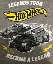 2019 Hot Wheels Legends Tour T Shirt Official Medium Real Riders Redline