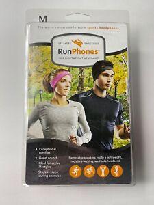 AcousticSheep RunPhones Medium Headphones Wireless Embedded Speakers Headband
