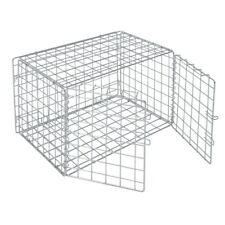 """Hubert® Chrome Wire Lockable Security Cage - 36""""L x 18""""W x 15""""H"""