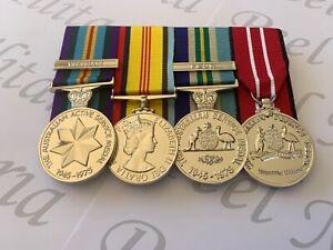 Vietnam Navy Logistical Support , Set of Full Size Replica War Medals.
