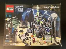 Lego Studios #1382 Scary Laboratory New Sealed HTF - 492 Pieces - Mgf. Date 2002
