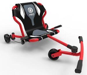 EzyRoller Drifter Pro X Kids 3 Wheel Ride On Ultimate Riding Machine Bravo Red