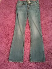 Juniors Denim Jeans Bullhead Black Jeans Stonewashed Size 7 Regular Slim  Boot