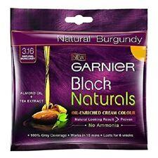 3x Garnier Black Hair Natural Burgundy Color Naturals Shade 3.16, 20ml Free Ship