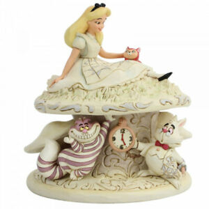 Disney Traditions Whimsy & Wonder Figurine 6005957 Alice Wonderland New & Boxed
