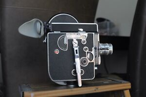 Bolex H16 Ref  Camera body with a 50mm Lens