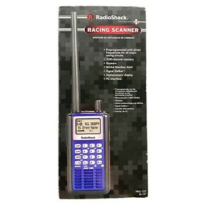 Radio Shack PRO-137 000 Blue Police Fire EMS Race Scanner