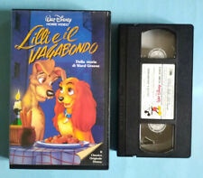 VHS FILM Ita Animazione Walt Disney LILLI E IL VAGABONDO no dvd cd lp mc (V2) °