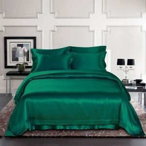 22mm 100% Mulberry Silk Extra Deep Fitted Bottom Sheet Seamless  Sisters-Silk