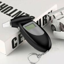 Digital Alcohol Breath Tester Breathalyzer Analyzer Detector Test Keychain SG