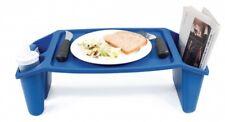 Betttablett Frühstückstablett Betttisch Bett Serviertablett Tablett blau