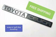 Toyota Celica Emblem Original Vtg 1970s 80s? OEM Nameplate 789