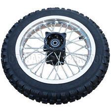 "12"" Rear Rim Wheel Assembly for 110cc 140cc 150cc Dirt Pit Bikes"