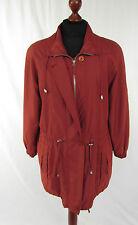 MADELEINE Damenjacke Übergangsjacke Longjacke Jacke, rot  Gr. 36 - 38