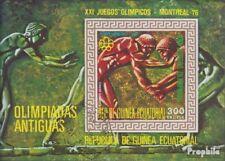 Äquatorialguinea Bloc 202 (complète edition) oblitéré 1975 Jeux Olympiques Été ´