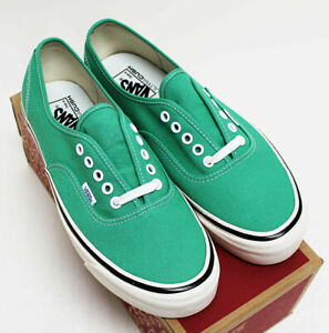 NIB VANS Men's Authentic 44 DX OG Jade Anaheim Factory 11.5 Low Sneakers Shoes