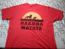 XL- Disney's Lion King Hakuna Matata T- Shirt