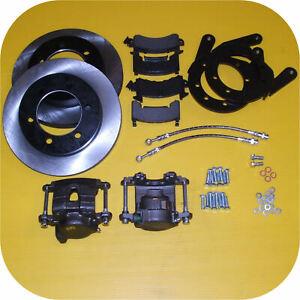 Front Disc Brake Conversion Kit for Toyota Land Cruiser FJ40 FJ45 FJ55 Drums ...