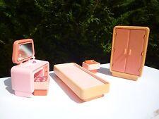 ♥ Ancienne Chambre à Coucher Barbie Mattel Année 1977 Vintage
