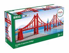 TRAIN EN BOIS BRIO hänge-brücke 33683 Pont emballage d'ORIGINE - Neuf