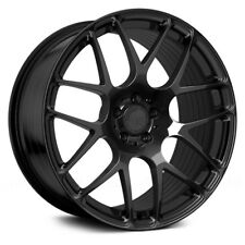 "19"" AVANT GARDE M610 MATTE BLACK WHEELS FOR MERCEDES R230 SL500 SL550 SL55 SL63"