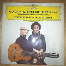 SEALED Narciso Yepes Teresa Berganza Canciones Espanolas LP spanish guitar music