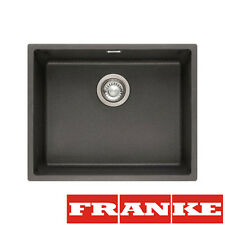 FRANKE Sid 110-50 Onyx Tectonite 1 Bowl Sink Undermount  Pop-Up Waste&Overflow