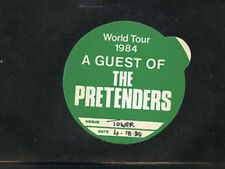 The Pretenders World Tour 1984- BS Guest pass Tower Theater 4/18/84 - 3rd night