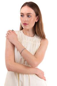 RRP €480 MANUEL BOZZI 925 Sterling Silver Bracelet Skull Links HANDMADE in Italy