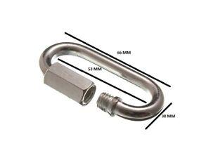 Maillon Rapide Réparation de Chaîne Manille 7mm 9/32 BZP Zp Paquet Taille 20