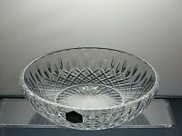 "Stuart Crystal ""Shaftesbury"" Shallow Bowl or Dish -  Signed with Original Box"