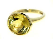 SCHMUCKJAGD RING GR. 16 (50,5) AUS 585/- GOLD MIT GOLD BERYLL SOGNI D'ORO