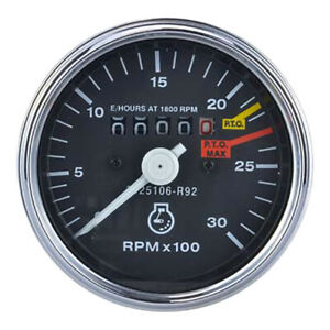 NEW HOURMETER FITS INTERNATIONAL HARVESTER 2500A 574 HYDRO 484 584 3125106R92