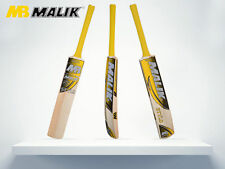 "MB Malik Heavy Tennis Ball Cricket Bat ""STYLO""With Free Bat Cover,New Arrival"