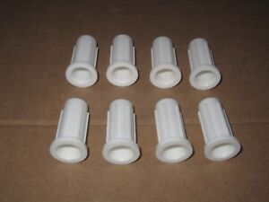 (8) Unico Centrifuge Pediatric Tube Adapter C800-04 38-45mm Fx Vx Lx Mx Hx Bx