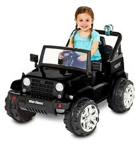Kid Trax Jeep style battery operated car with New Battery for young child
