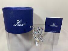 Swarovski Crystal Chinese Zodiac Monkey 7693 000 004 / 289901 MIB W/COA NEW