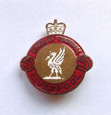 Liverpool Vintage Enamel Pin Badge Kings Of Football