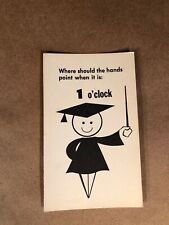 36 How to Tell Time Flash Cards. Educational flash cards