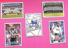 Merlin.. F.A. Premier League 2001... 5... Pegatinas X 2001... en muy buena condición (incluye #1)