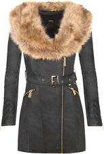 Faux Fur Bomber Coats, Jackets & Vests for Women
