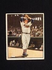 1950 Bowman #6 Bob Feller Baseball Card - Cleveland Indians