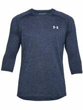 Under Armour Men's Ua Tech 3/4 Sleeve T-Shirt - Small - Navy - New