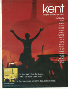 Kent 1999 Ad- 747 (We Ran Out Of Time)   Advertisement