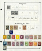 St. Vincent 1883 to 1992 Mint & Used Advanced Stamp Collection