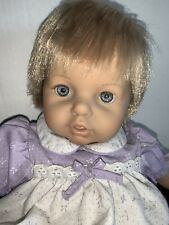 Adorable 16� Berenguer Rooted Hair Cloth Vinyl Baby Toddler Doll