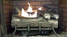 Vent-Free Logs, Monessen Mountain Oak, Manual Control, 18 inch, Natural Gas
