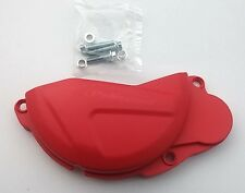 Kupplungsdeckel Protektor Cover Schutz Honda CRF 250 Bj. 2010-2015 rot