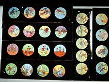 6 PLAQUES DE VERRE POUR LANTERNE MAGIQUE - VERS 1900 !! Lot N°18